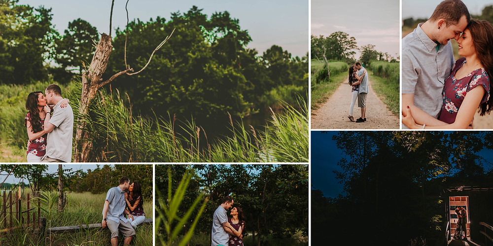 Terrapin Beach Nature Park Maryland Engagement Photography