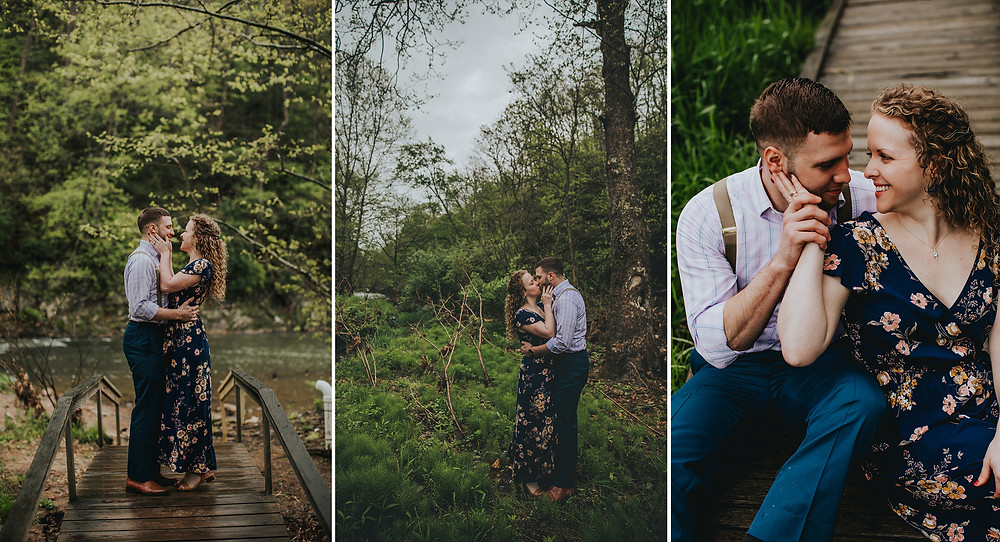 Eden Mill Maryland Engagement Photography