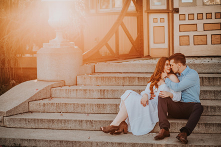 Baltimore Maryland Patterson Park Engagement Session