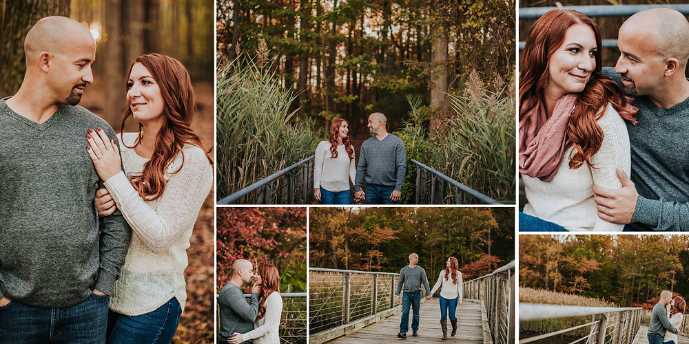 Marshy Point Maryland Engagement Photography