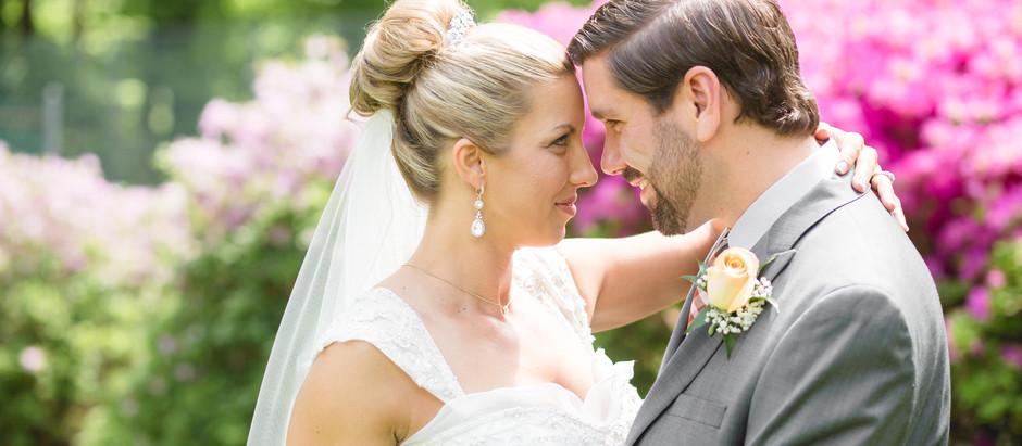 Mandy + Jesse  DIY Wedding at Home