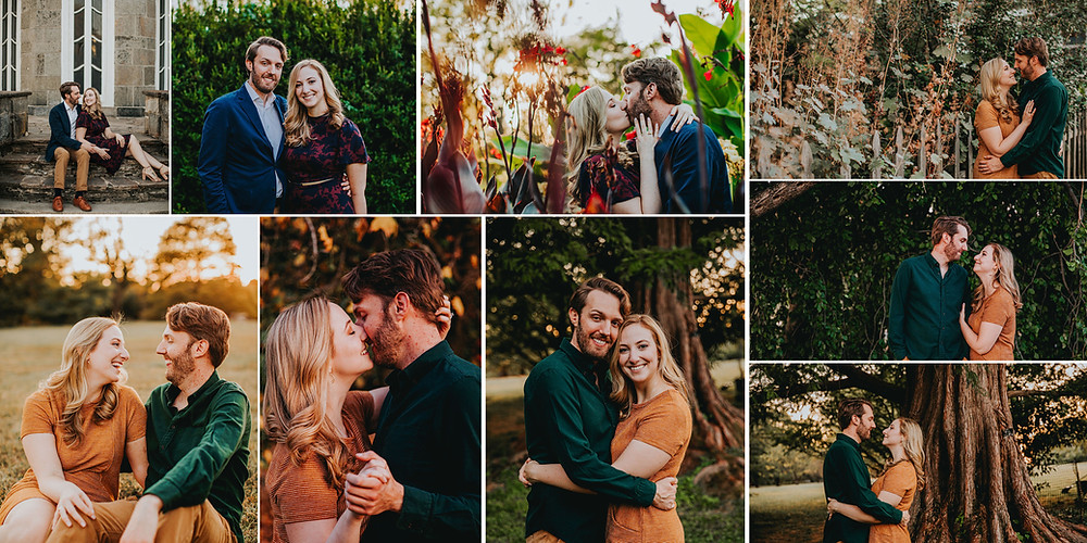 Cylburn Arboretum Engagement Photography