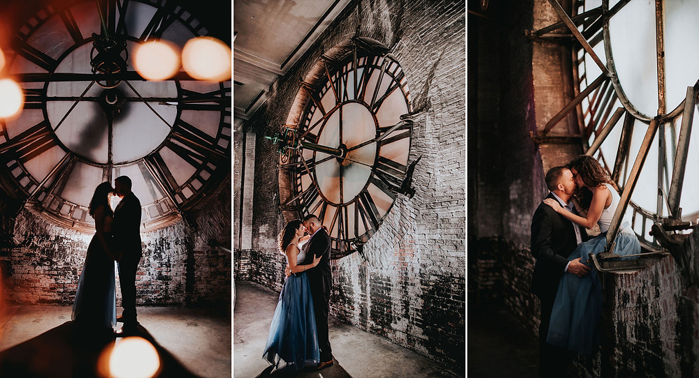 Bromo Seltzer Tower Engagement Photography