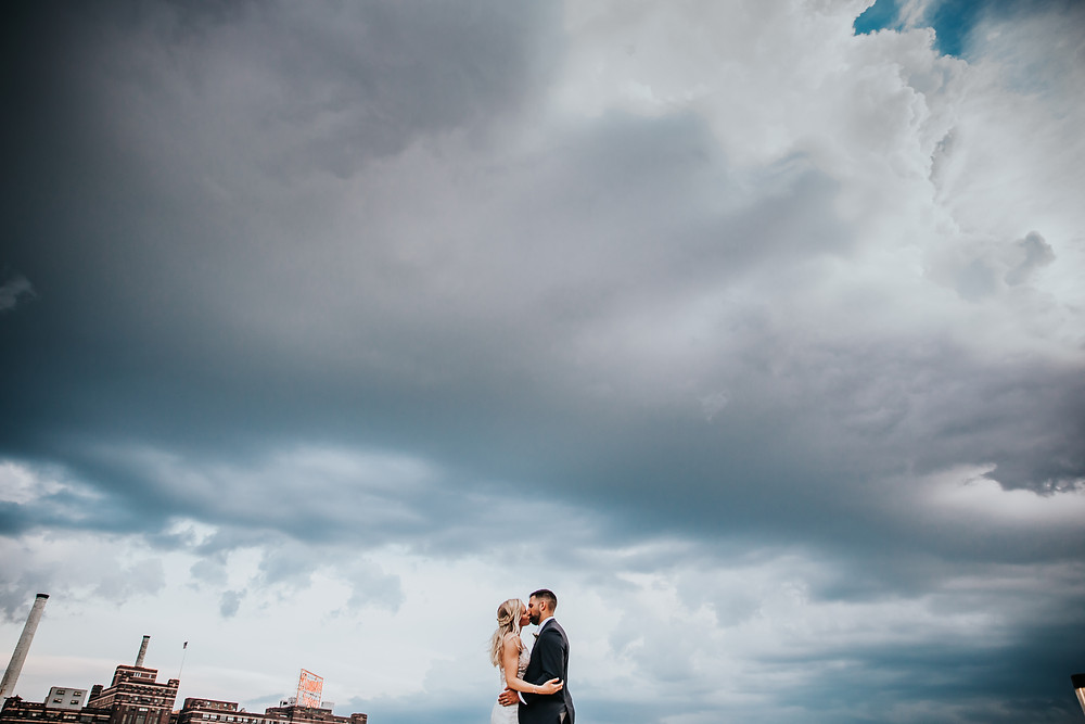 Baltimore Wedding Photographer at the Ampersea by the Inner Harbor