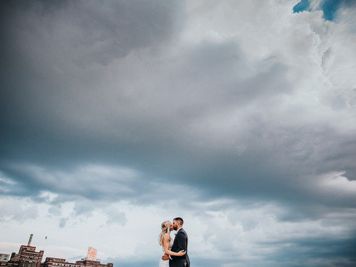 Taylor + Shawn | Fun + Bold Downtown Baltimore Maryland Wedding