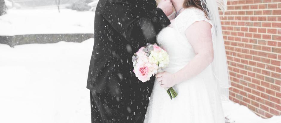 Eric + Kristy  Winter Wedding Day