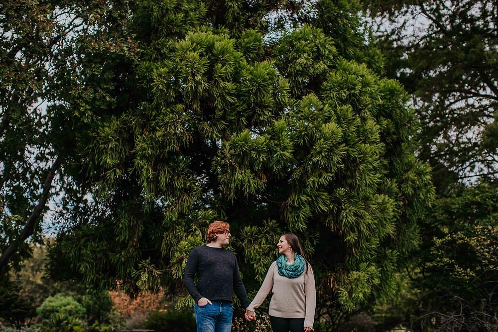 Cylburn Arboretum Engagement Session