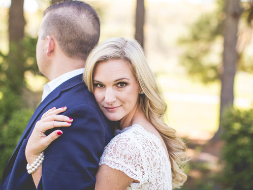 Katie + Cory| Chic Country Engagement
