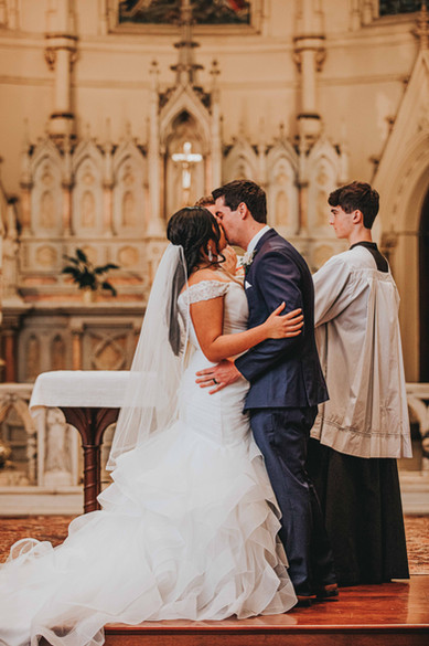Baltimore Church Wedding Photography
