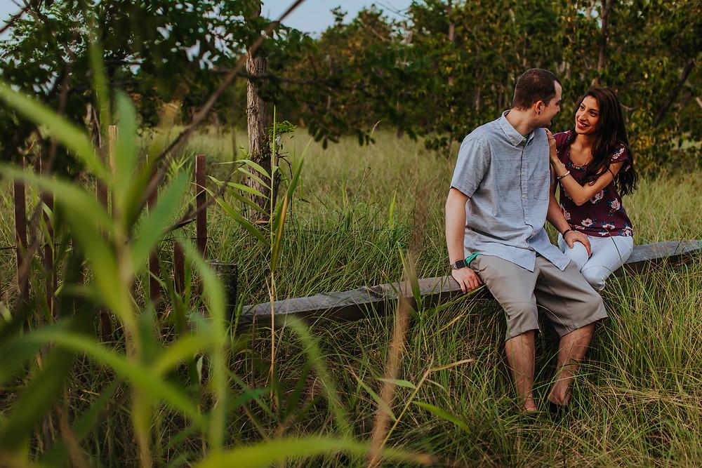 Terrapin Beach Park Maryland Engagement
