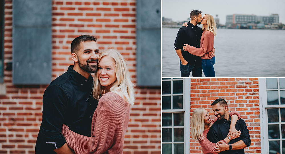 Fells Point Baltimore Engagement Session