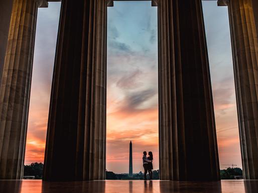 Maria + Craig / Washington DC Engagement
