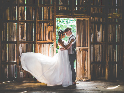 Harrison + Jasmyn's Rustic Chic Wedding