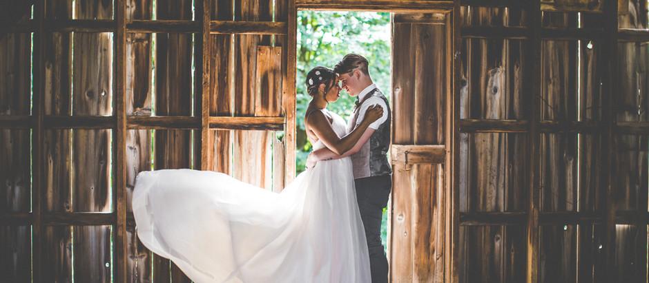 Harrison + Jasmyn's Rustic Chic Wedding