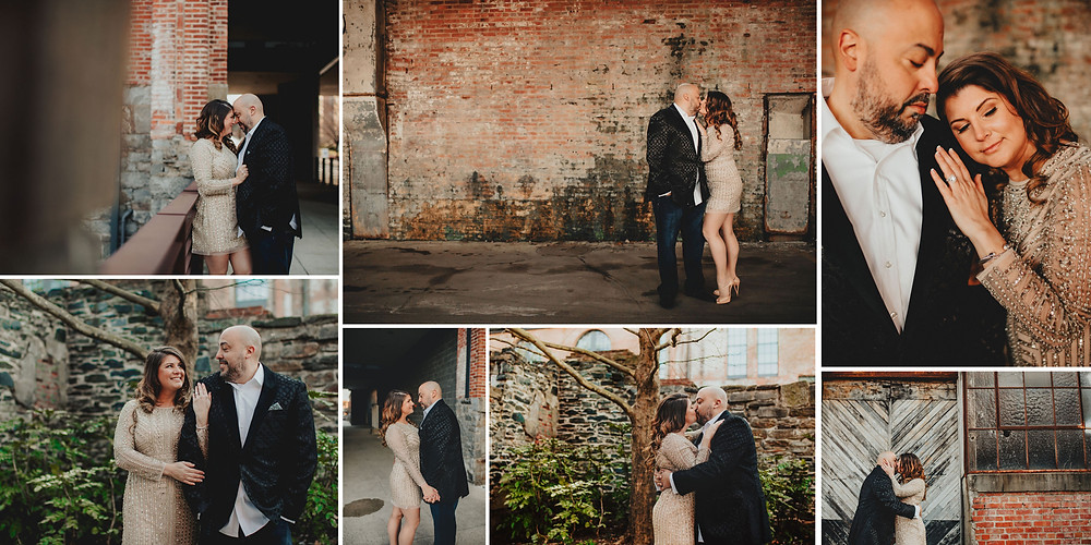 Clipper Mill Baltimore Maryland Engagement Photography