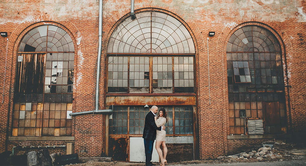 Clipper Mill Baltimore Maryland Engagement Session