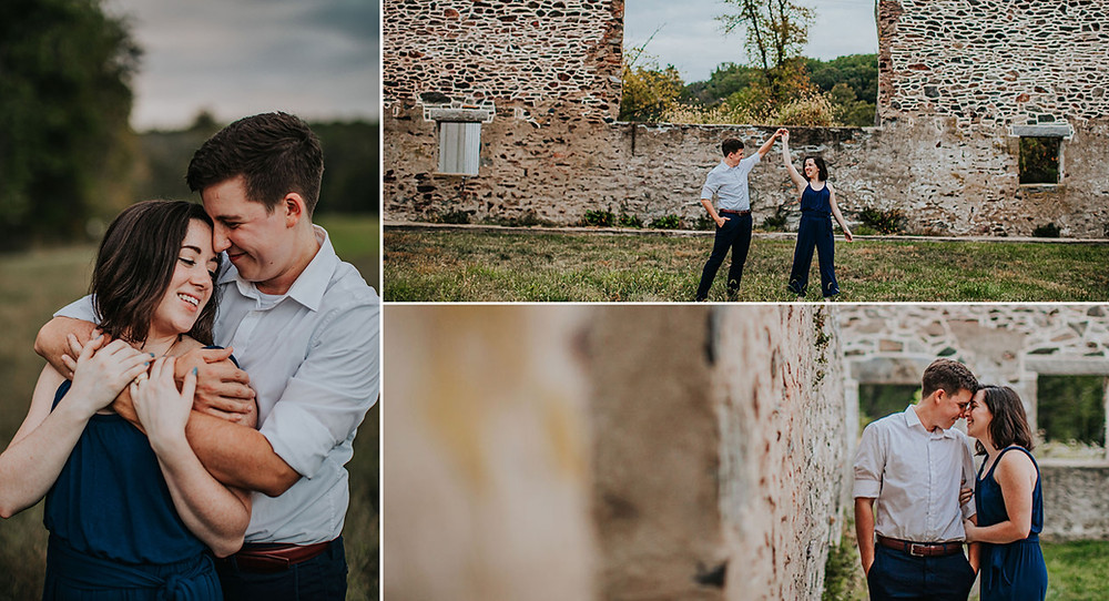 Jerusalem Mill Village Maryland Engagement Photography