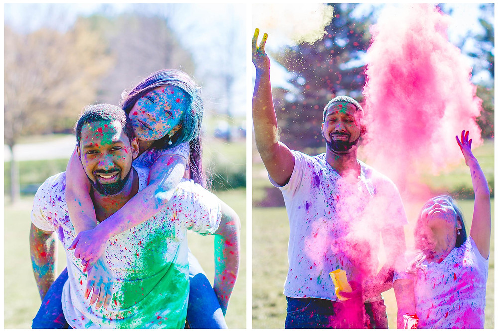 Washington DC Wedding Photographer| Engagements| Dry Paint Engagement Photography
