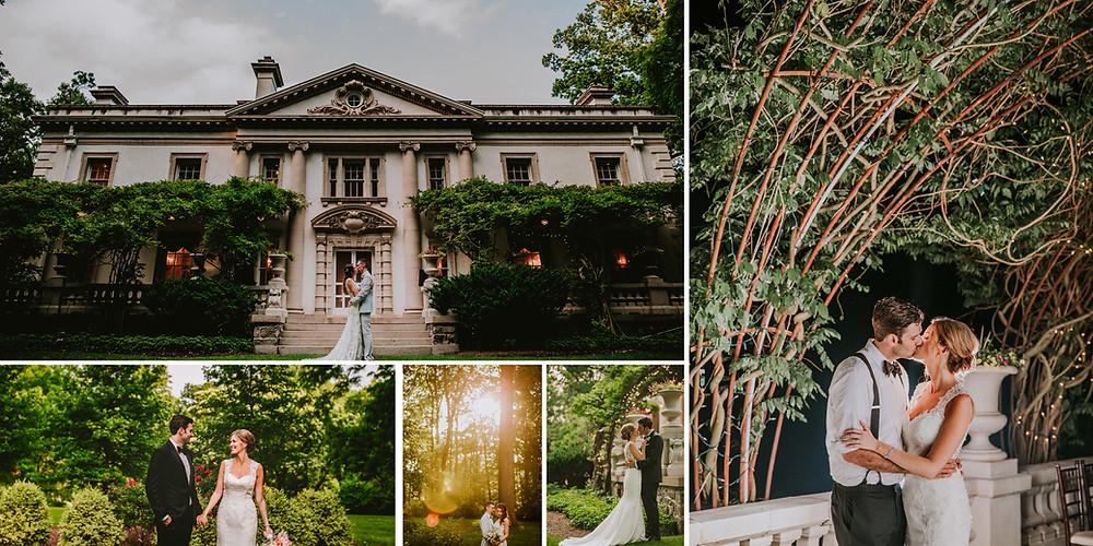 Liriodendrion Mansion Maryland Engagement and Wedding Photography