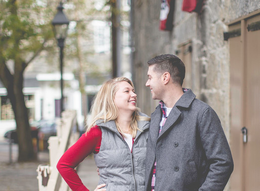 Alecia + Patrick| Ellicott City Engagement Session