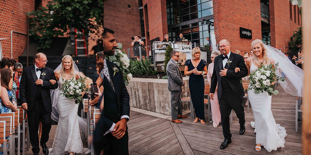Best Baltimore Wedding Photographer at the Ampersea in Fells Point