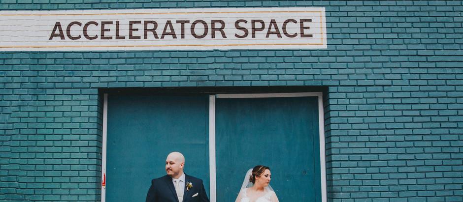 Rachel + Jeremy   Accelerator Space   Feb. 23 2019