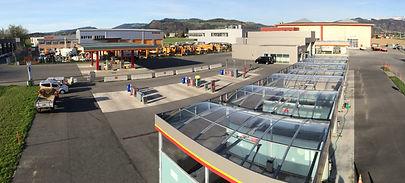 Uetendorf Tankstelle mit Waschanlagen