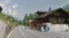 oeltrans Tankstelle Achseten (zwischen Frutigen und Adelboden)