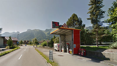 oeltrans Tankstelle Blumenstein