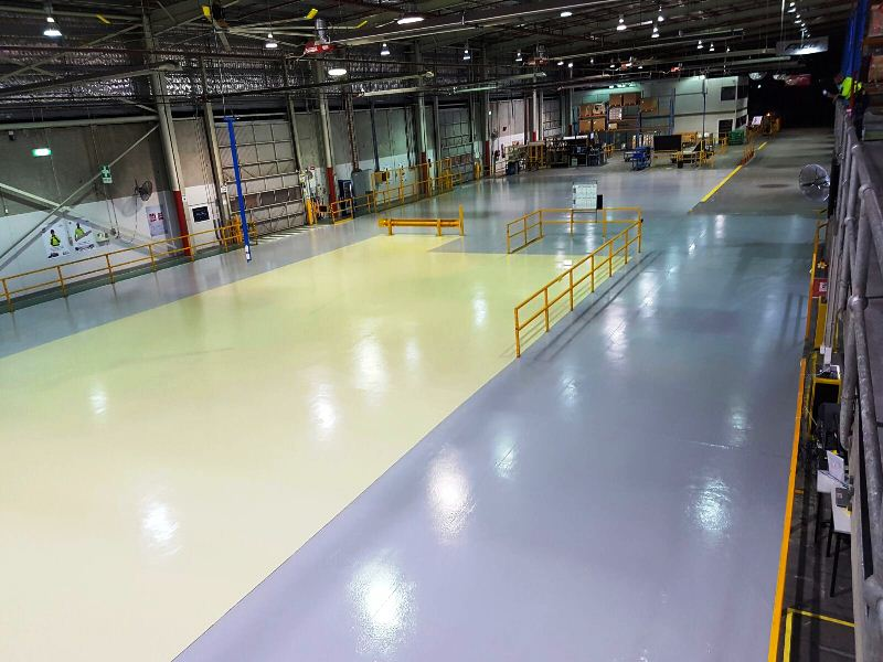 Water Based Epoxy Flooring