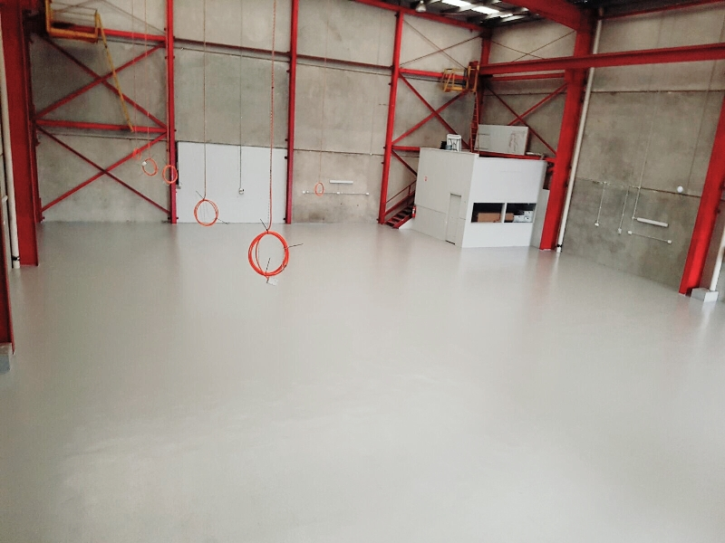 Oil resistant Epoxy Flooring