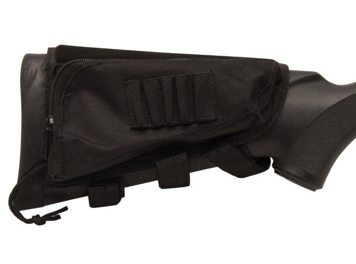 BUTT STOCK CHEEK PAD AND AMMO HOLDER