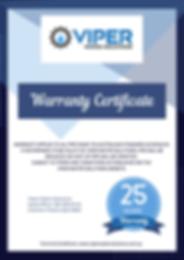 25 Year Certificate Viper Warranty .png