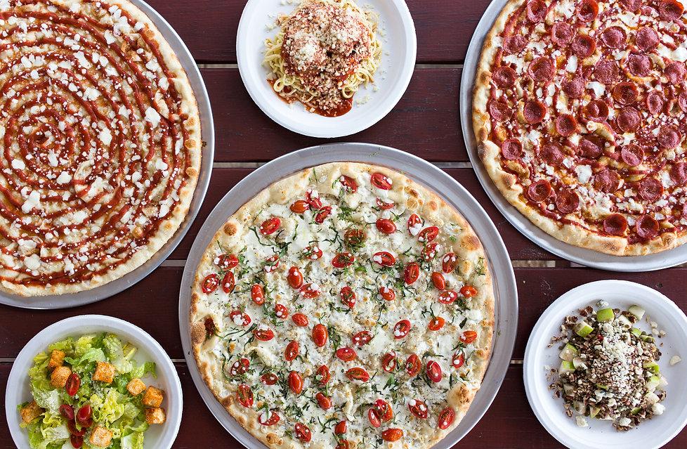 Lunar Pizza menu items