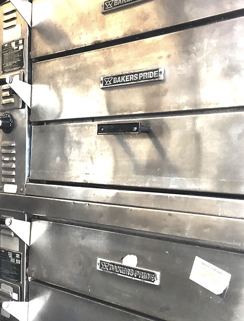Lunar Pizza ovens