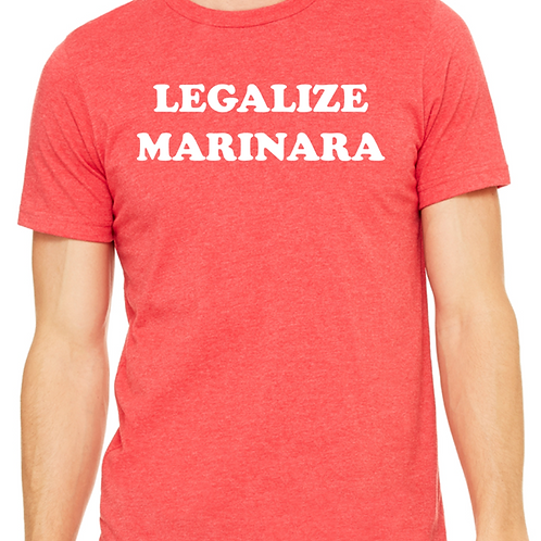 Regal Ravioli's Legalize Marinara T-Shirt