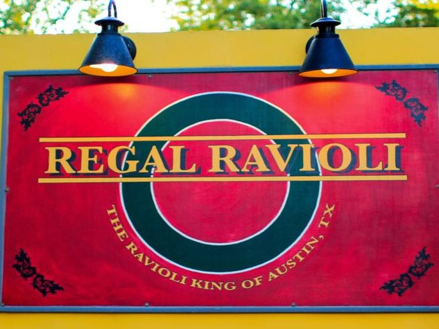Regal Ravioli Sign