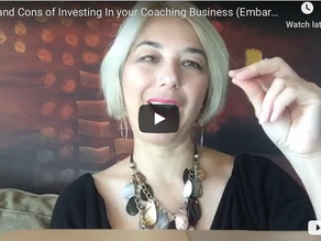 Pros and Cons of Investing In your Coaching Business (Embarrassing Truth and Lessons Learned)