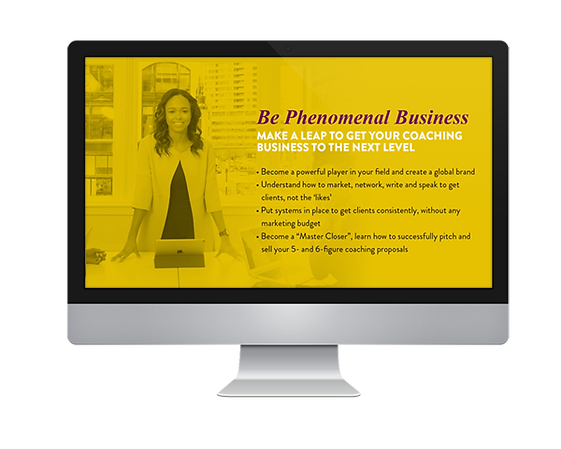 Be Phenomenal Business Screen.png