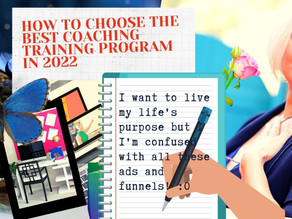 How To Choose the Best Coaching Training Program in 2022