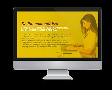 Be Phenomenal Pro Screen.png