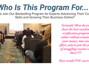 Want a Coaching Certification?