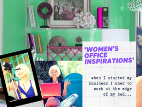 Feminine Home Office Ideas for Transformational Coaches and Therapists