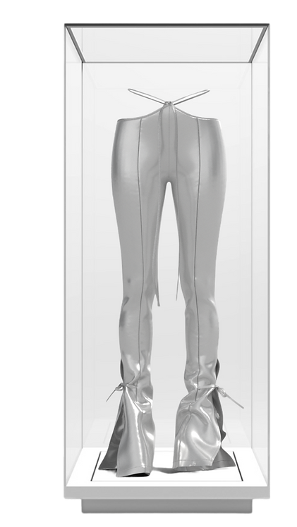 White Gold Trousers