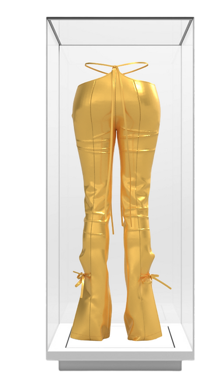 24k Gold Trousers