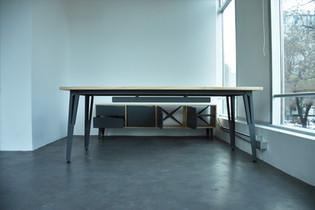 Privado escritorio y arrimo media altura abierto