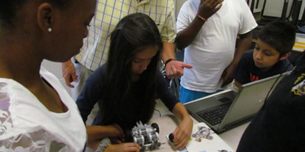 TRY STEM Robotics Summer program w/Delta company