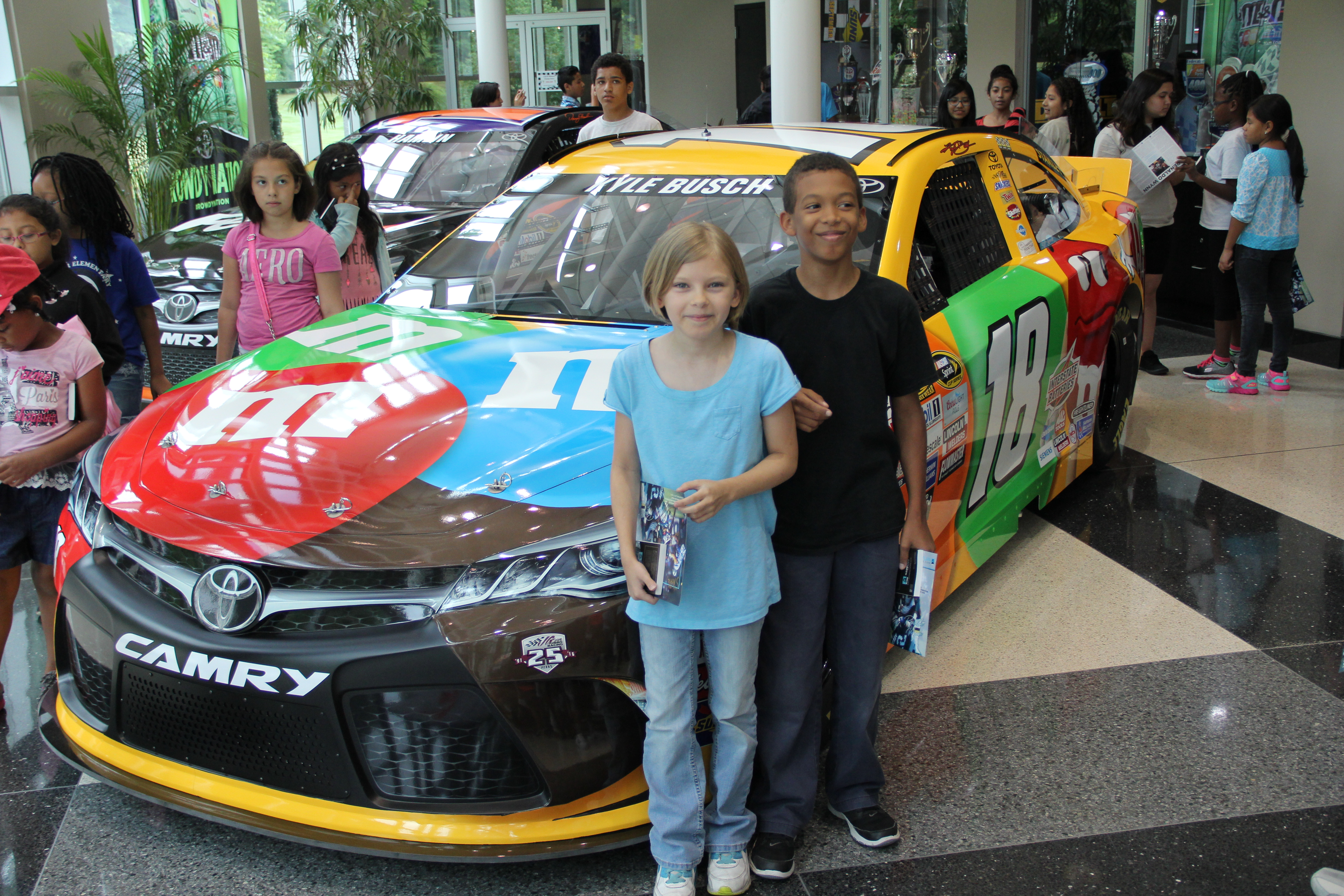 racecarm&M