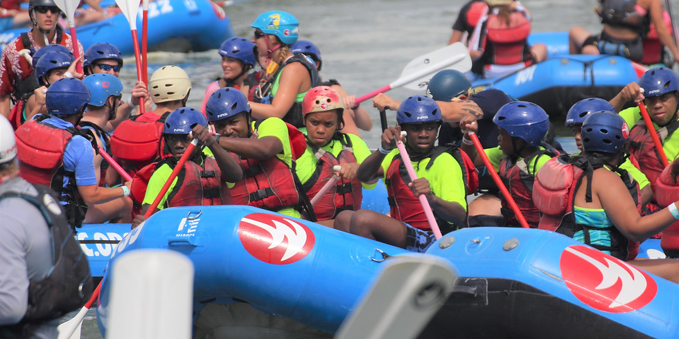 Whitewater Center Rafting Summer Program