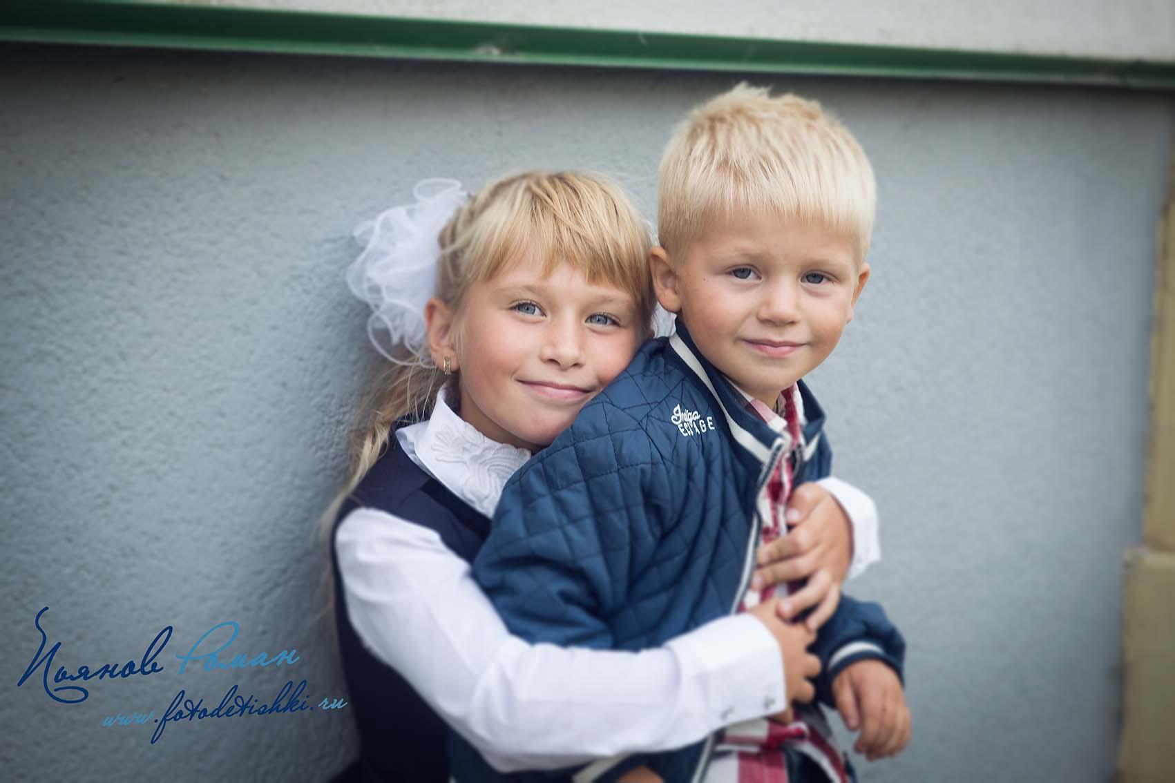 Репортажная фотосъемка детей